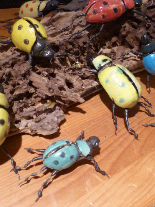 Bunte Käfer